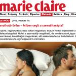 Marie Claire - Szabó Szilvia